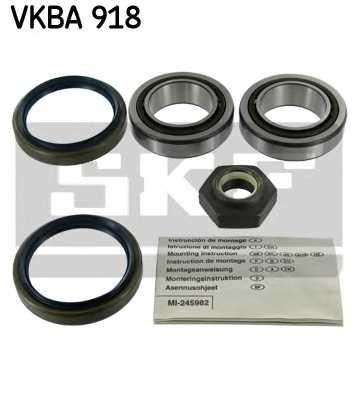 Комплект подшипника ступицы колеса SKF VKBA 918 - изображение