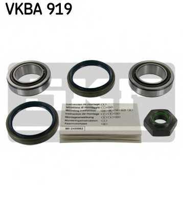 Комплект подшипника ступицы колеса SKF VKBA 919 - изображение
