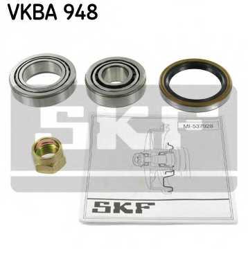 Комплект подшипника ступицы колеса SKF VKBA 948 - изображение