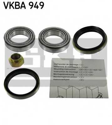 Комплект подшипника ступицы колеса SKF VKBA 949 - изображение