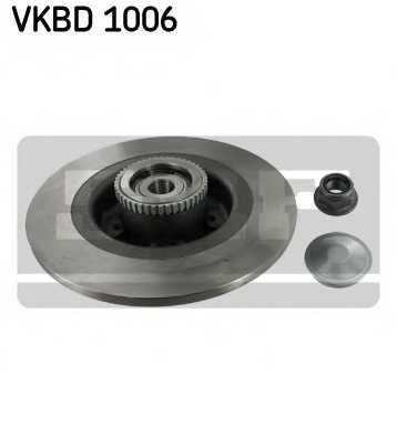 Тормозной диск SKF VKBD 1006 - изображение