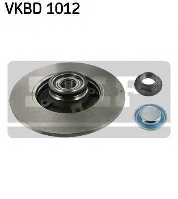Тормозной диск SKF VKBD 1012 - изображение