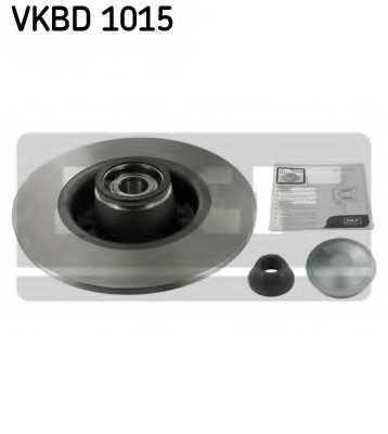 Тормозной диск SKF VKBD 1015 - изображение