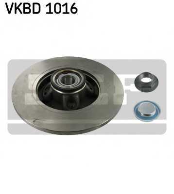 Тормозной диск SKF VKBD 1016 - изображение