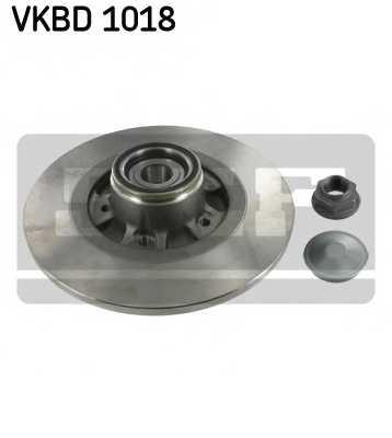 Тормозной диск SKF VKBD1018 - изображение