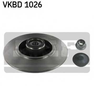 Тормозной диск SKF VKBD 1026 - изображение