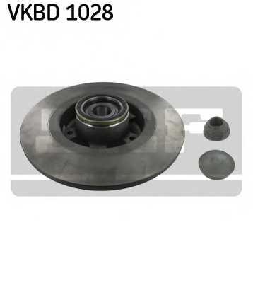 Тормозной диск SKF VKBD 1028 - изображение