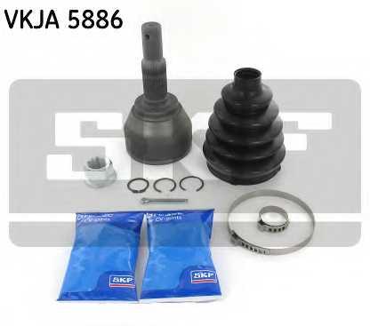 Шарнирный комплект приводного вала SKF VKJA 5886 - изображение