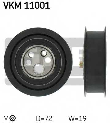 Натяжной ролик ременя ГРМ SKF VKM 11001 - изображение