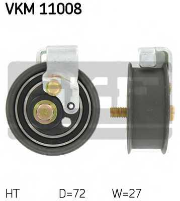 Натяжной ролик ременя ГРМ SKF VKM 11008 - изображение