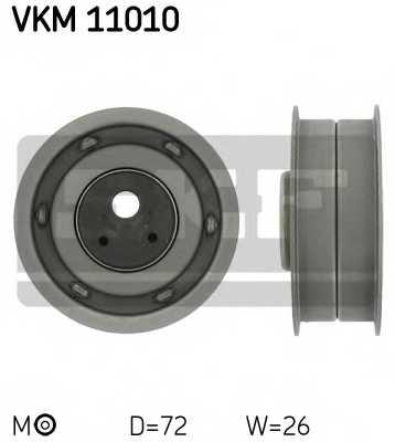 Натяжной ролик ременя ГРМ SKF VKM 11010 - изображение