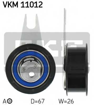 Натяжной ролик ременя ГРМ SKF VKM 11012 - изображение