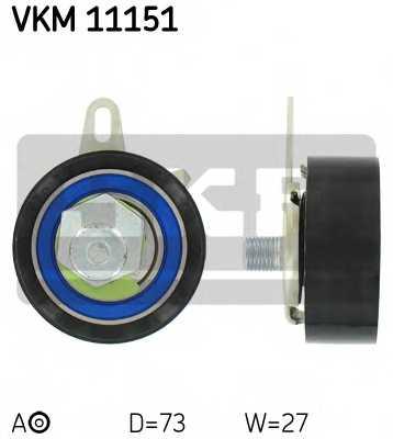 Натяжной ролик ременя ГРМ SKF VKM 11151 - изображение