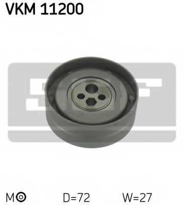 Натяжной ролик ременя ГРМ SKF VKM 11200 - изображение