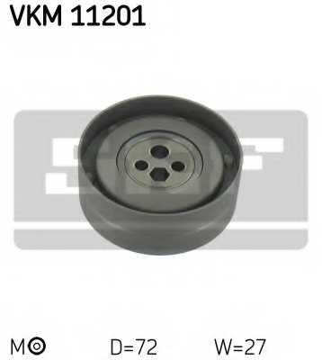 Натяжной ролик ременя ГРМ SKF VKM 11201 - изображение