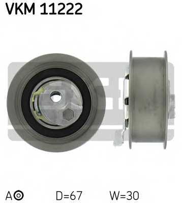 Натяжной ролик ременя ГРМ SKF VKM 11222 - изображение