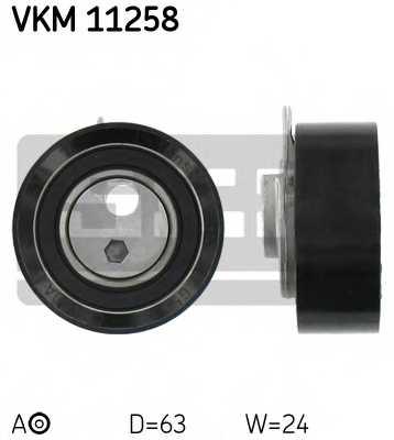 Натяжной ролик ременя ГРМ SKF VKM 11258 - изображение
