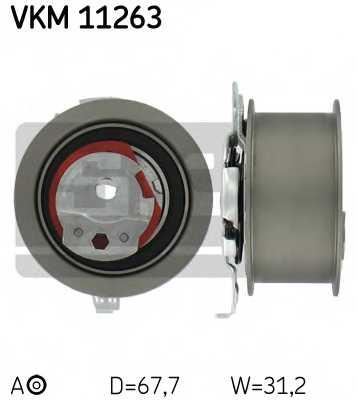 Натяжной ролик ременя ГРМ SKF VKM 11263 - изображение