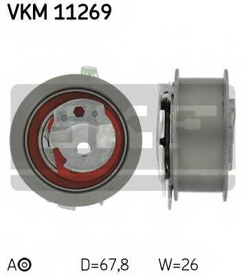 Натяжной ролик ременя ГРМ SKF VKM 11269 - изображение