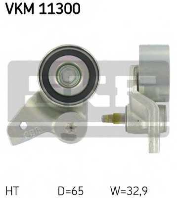 Натяжной ролик ременя ГРМ SKF VKM 11300 - изображение
