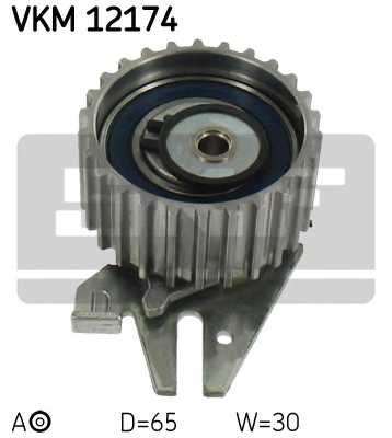 Натяжной ролик ременя ГРМ SKF VKM 12174 - изображение