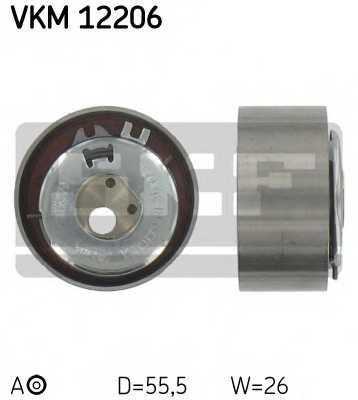 Натяжной ролик ременя ГРМ SKF VKM 12206 - изображение