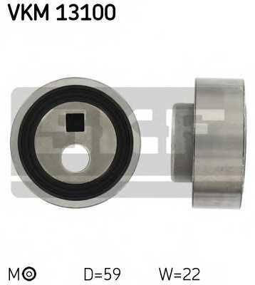 Натяжной ролик ременя ГРМ SKF VKM 13100 - изображение
