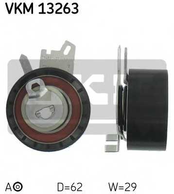 Натяжной ролик ременя ГРМ SKF VKM 13263 - изображение