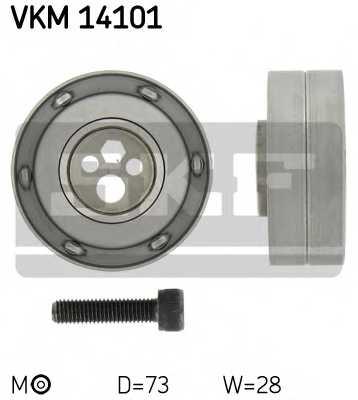 Натяжной ролик ременя ГРМ SKF VKM 14101 - изображение