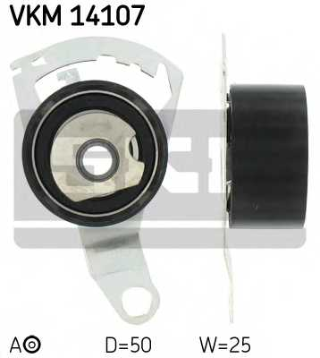 Натяжной ролик ременя ГРМ SKF VKM 14107 - изображение