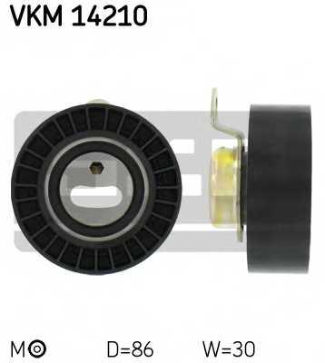 Натяжной ролик ременя ГРМ SKF VKM 14210 - изображение