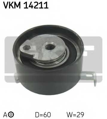 Натяжной ролик ременя ГРМ SKF VKM14211 - изображение