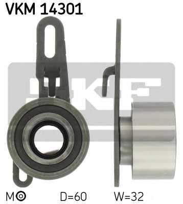 Натяжной ролик ременя ГРМ SKF VKM 14301 - изображение