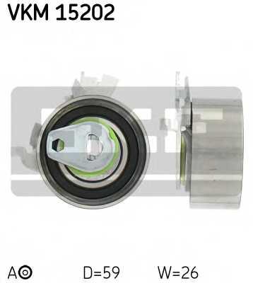 Натяжной ролик ременя ГРМ SKF VKM 15202 - изображение