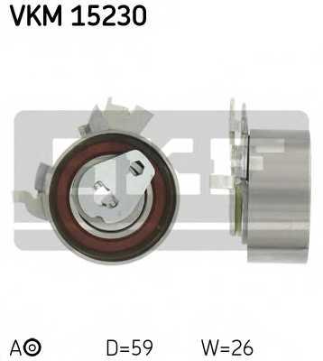 Натяжной ролик ременя ГРМ SKF VKM 15230 - изображение