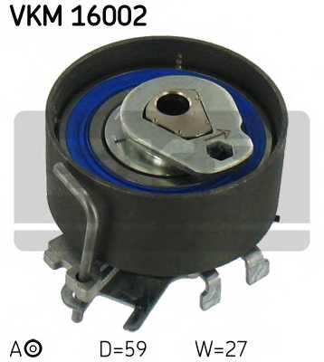 Натяжной ролик ременя ГРМ SKF VKM 16002 - изображение