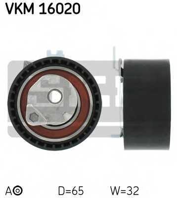 Натяжной ролик ременя ГРМ SKF VKM 16020 - изображение