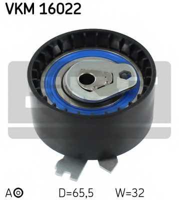 Натяжной ролик ременя ГРМ SKF VKM 16022 - изображение
