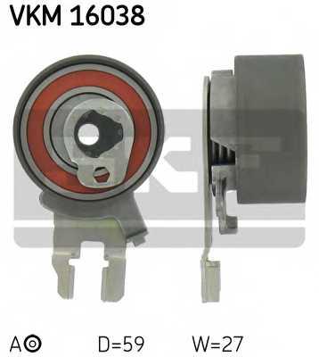 Натяжной ролик ременя ГРМ SKF VKM 16038 - изображение