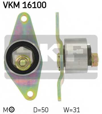 Натяжной ролик ременя ГРМ SKF VKM 16100 - изображение