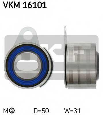Натяжной ролик ременя ГРМ SKF VKM 16101 - изображение
