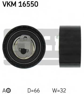 Натяжной ролик ременя ГРМ SKF VKM 16550 - изображение