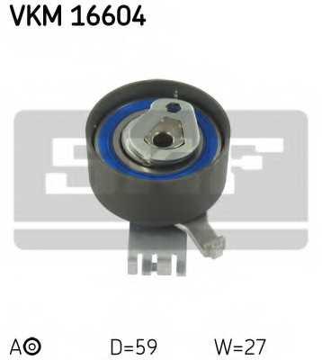 Натяжной ролик ременя ГРМ SKF VKM 16604 - изображение