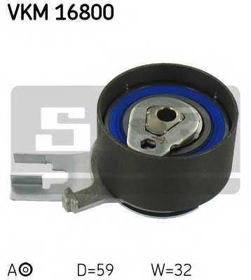 Натяжной ролик ременя ГРМ SKF VKM 16800 - изображение