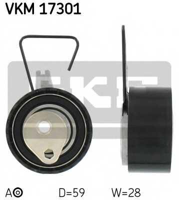 Натяжной ролик ременя ГРМ SKF VKM 17301 - изображение