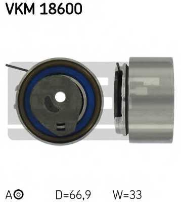 Натяжной ролик ременя ГРМ SKF VKM 18600 - изображение