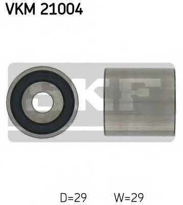Паразитный / ведущий ролик зубчатого ремня SKF VKM 21004 - изображение