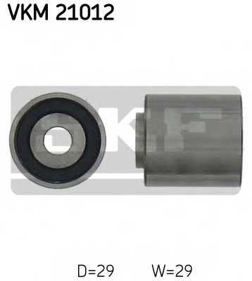 Паразитный / ведущий ролик зубчатого ремня SKF VKM 21012 - изображение