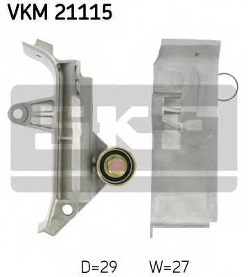 Паразитный / ведущий ролик зубчатого ремня SKF VKM 21115 - изображение