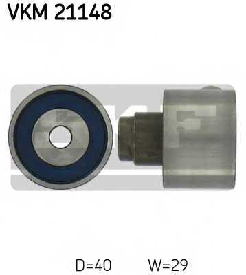 Паразитный / ведущий ролик зубчатого ремня SKF VKM 21148 - изображение